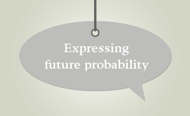 Expressing future probability