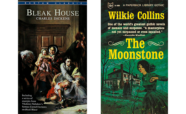 Cover: The Moonstone and Bleak House