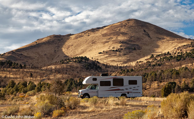 Camping near  Carroll Summit, Nevada, just off of Route 50