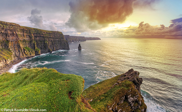 The unforgettable Cliffs of Moher, one of Ireland's top tourist attractions