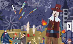 Illustration: Bonfire Night